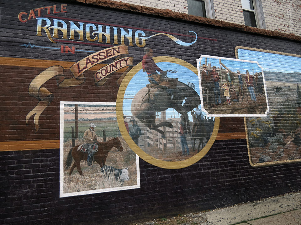 Mural: Ranching in Lassen County - Lassen County Times