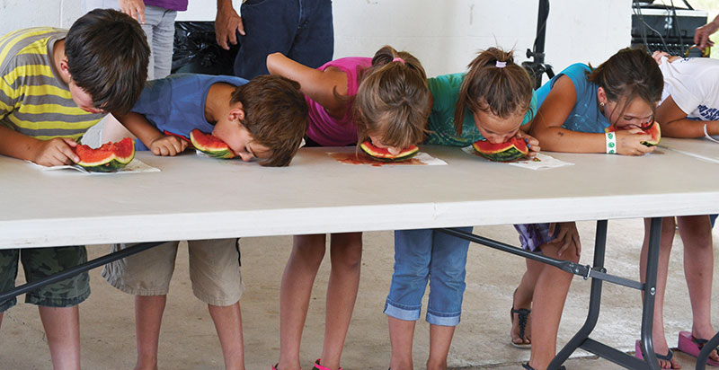 Watermelon Eating Contest - Lassen County Times